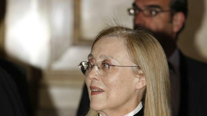 Milagros Calvo,pionera en el Supremo: No es que me sintiera sola, estaba sola