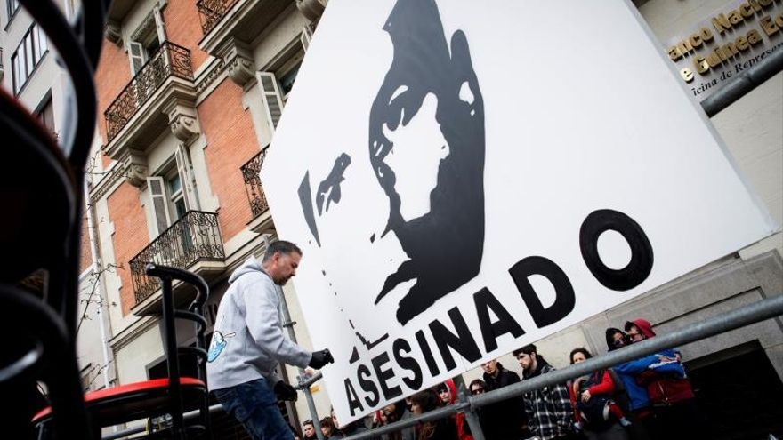 La Audiencia Nacional ordena indemnizar con 182.000 euros a la familia Couso