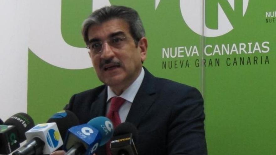 """NC dice que la oferta de 'pacto por Canarias' de Rivero al PP responde a sus disputas """"irresponsables"""" con Soria"""