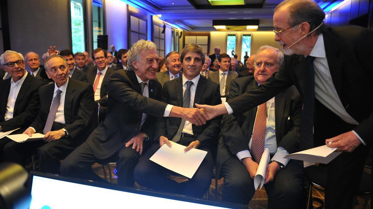 Reunión de la Asociación Empresaria Argentina (AEA) en 2017.