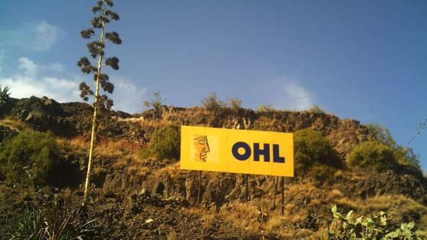 Cartel de OHL.