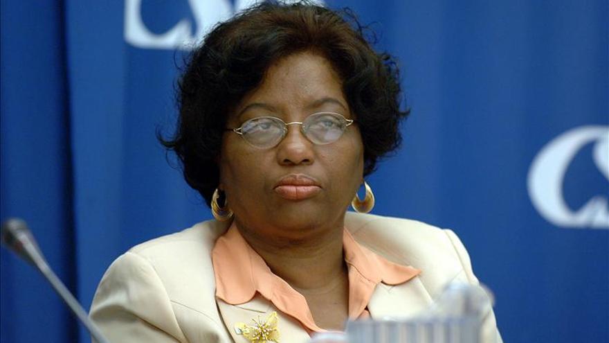La OMS confirma a Carissa Etienne, de Dominica, como directora general de la OPS