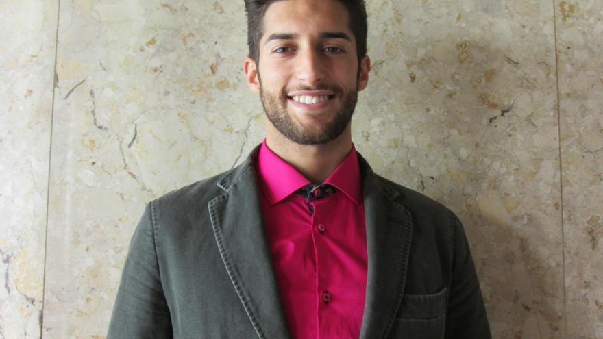 Yovany Pérez competirá en julio en Punta Cana en el certamen internacional. Foto: LUZ RODRÍGUEZ.