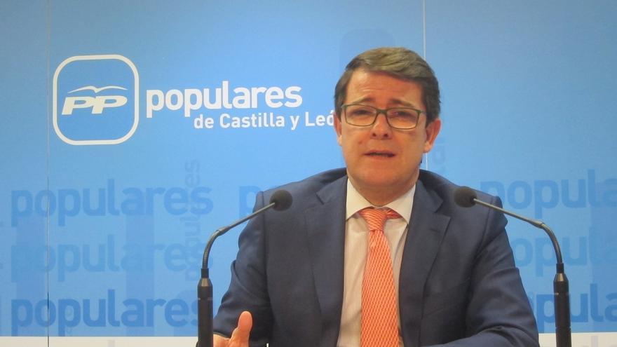 El PPCyL defenderá mociones en ayuntamientos, diputaciones y Cortes contra la celebración del referéndum en Cataluña