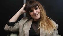 La cantautora española María de los Ángeles Rozalén Ortuño, conocida en el mundo de la música como Rozalén, en una entrevista con la agencia EFE en julio de 2019..