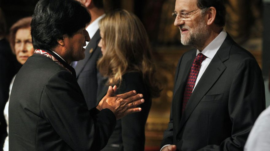 Ministra precisa que Morales canceló con Rajoy por seguir las noticias de Bolivia