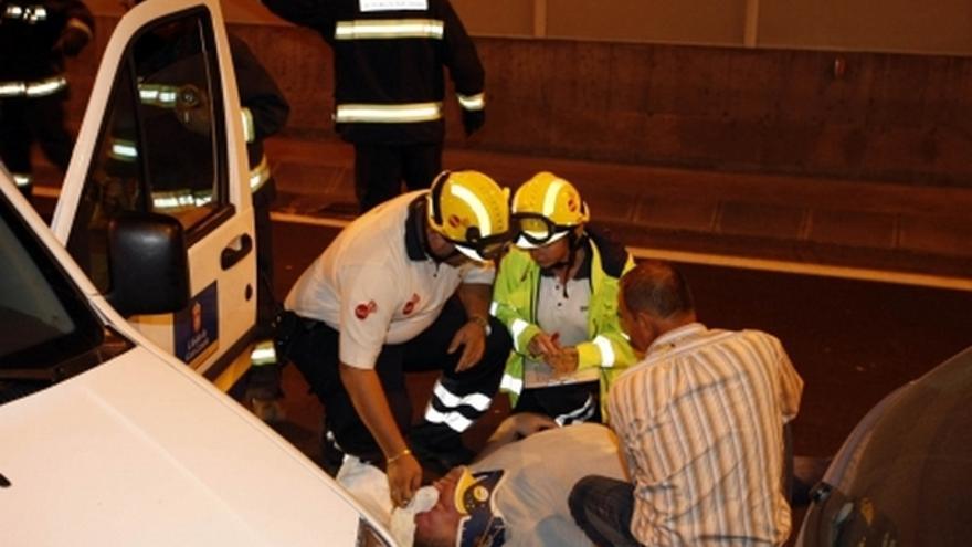 Del simulacro de accidente en el túnel de Pedro Hidalgo #8