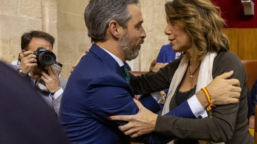 """Susana Díaz acusa a la Junta de hacer un """"montaje"""" con documentos de los ERE"""
