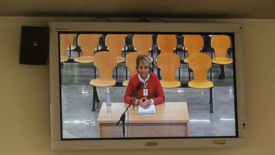 Aguirre llega a la Audiencia Nacional para testificar en el juicio del caso Gürtel