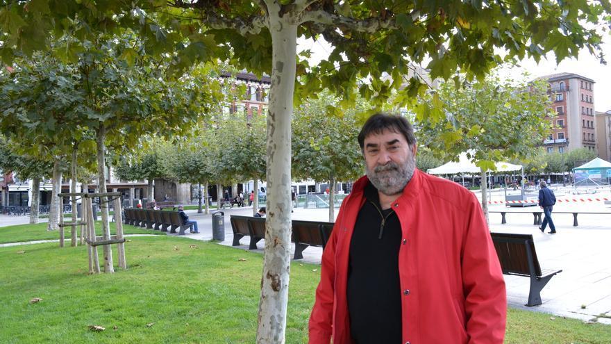 El nuevo decano del Colegio de Sociología y Politología de Navarra, Manuel Rodríguez.