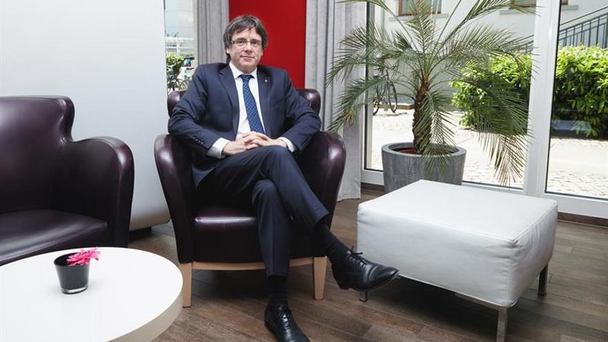 Carles Puigdemont fue detenido en Alemania el pasado 25 de marzo