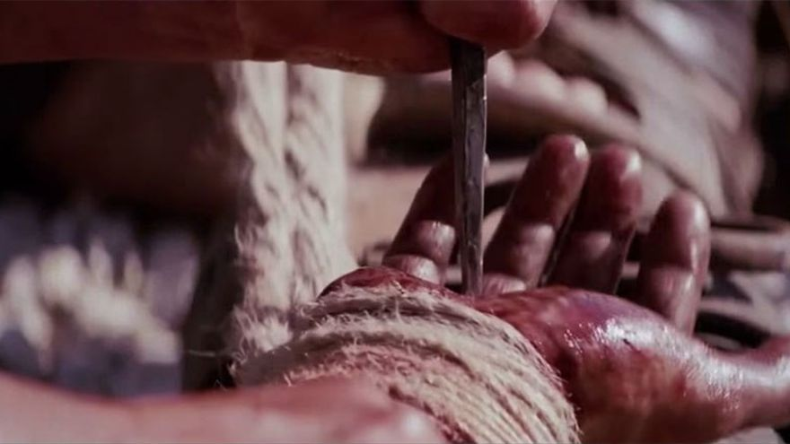 La crucifixión era una manera cruel y aberrante de ajusticiamiento. (Youtube).