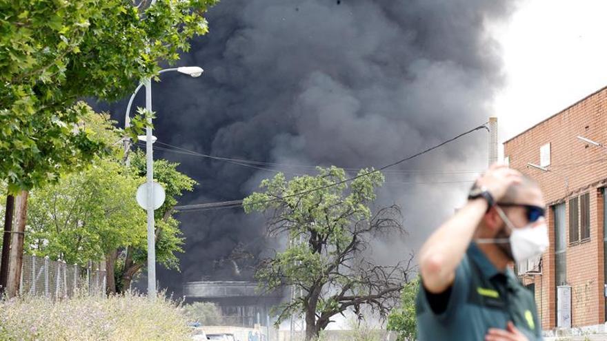 Se disipa la nube tóxica de magnesio pero los vecinos sigue confinados otras 2 horas