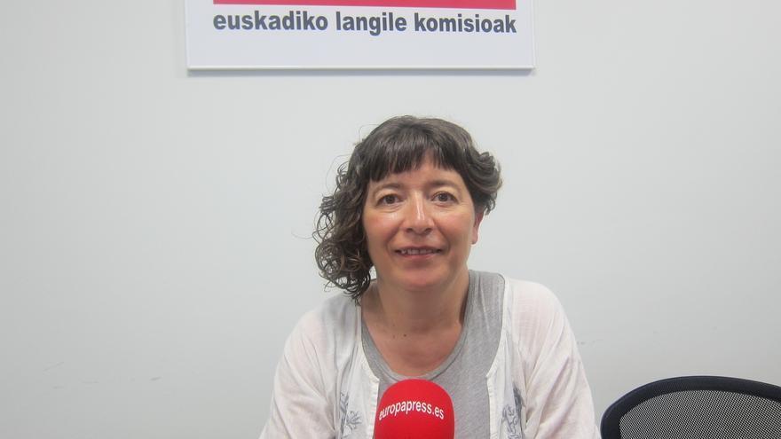 """García (CCOO) advierte de que la conflictividad sindical seguirá este otoño en Euskadi, si no hay """"reparto de riqueza"""""""
