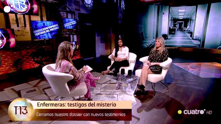 """Cuatro Milenio cerró su dossier de """"enfermeras testigos del misterio"""" con dos nuevos testimonios"""