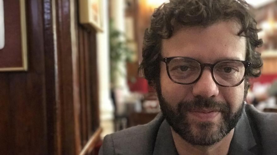 El escritor y periodista Ramón Betancort.