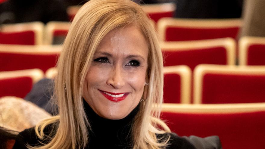 Cristina Cifuentes, invitada sorpresa de este sábado en el 'Deluxe' de Telecinco