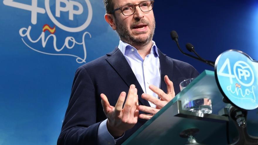 """Maroto critica que Podemos esté liderado por una """"pareja"""" y cree que si ocurriera en el PP """"sería mucho cante"""""""