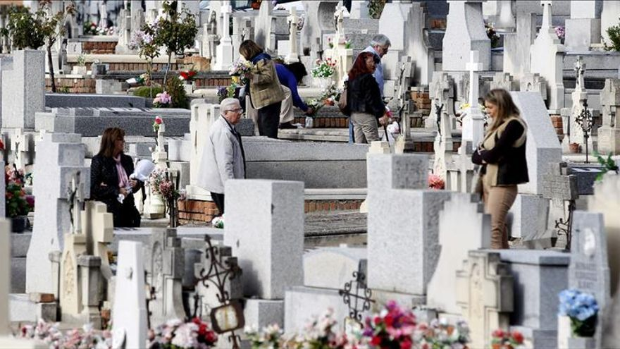Imagen de un cementerio.