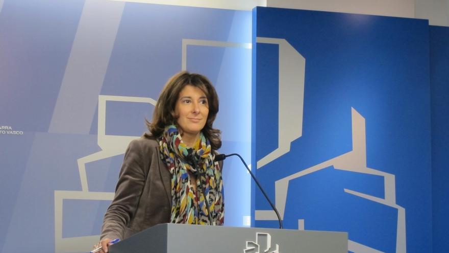Laura Garrido recuerda al PNV que alcanzó un acuerdo presupuestario con el PP en Euskadi estando el 155 en vigor