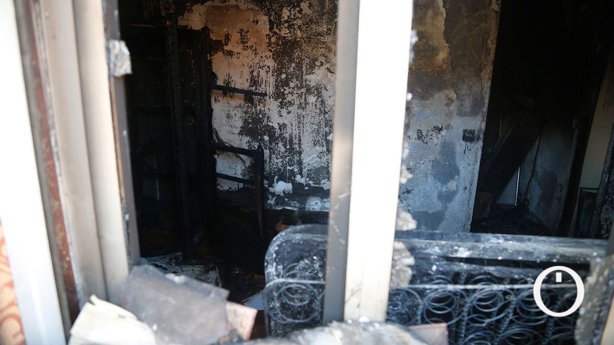 Incendio de vivienda en la calle Leovigildo.