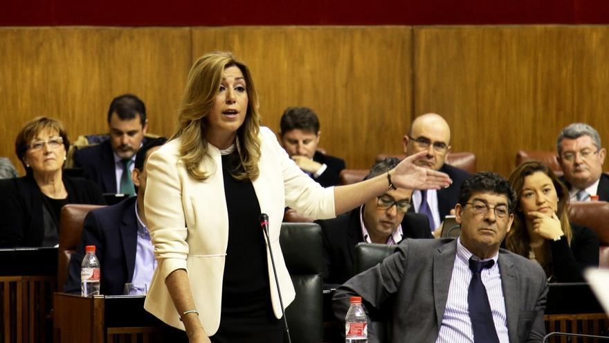 """Díaz ofrece un """"pacto de hechos"""" al PP andaluz contra la corrupción porque Rajoy """"dice pero no hace"""""""