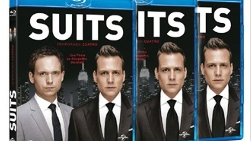 ¡Regalamos la 4ª temporada de 'Suits' en Blu-ray!