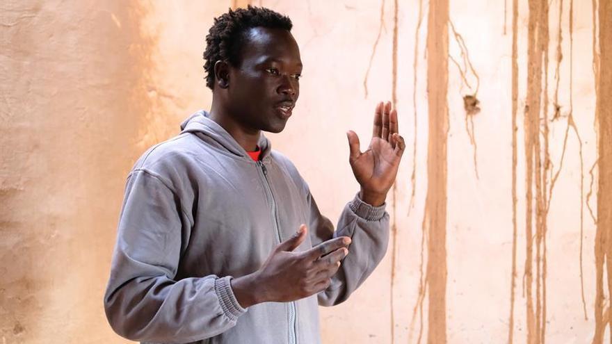 El joven senegalés Ale, de 27 años.