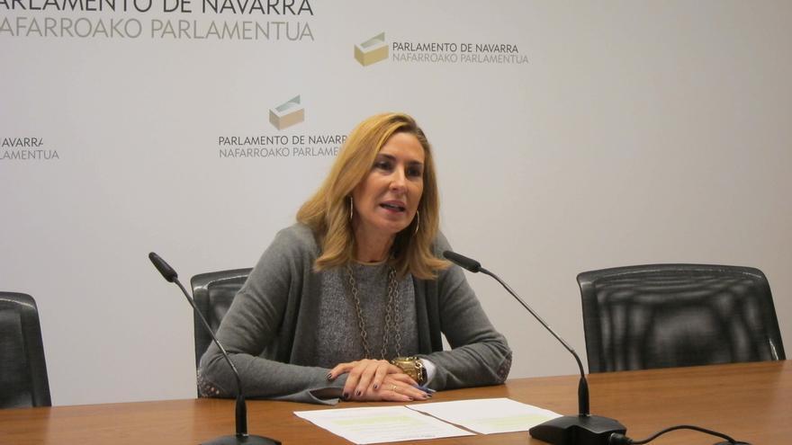 """Beltrán dice que Fomento """"coge las riendas del TAV"""" porque el Gobierno foral """"dilataba intencionadamente"""" el proceso"""