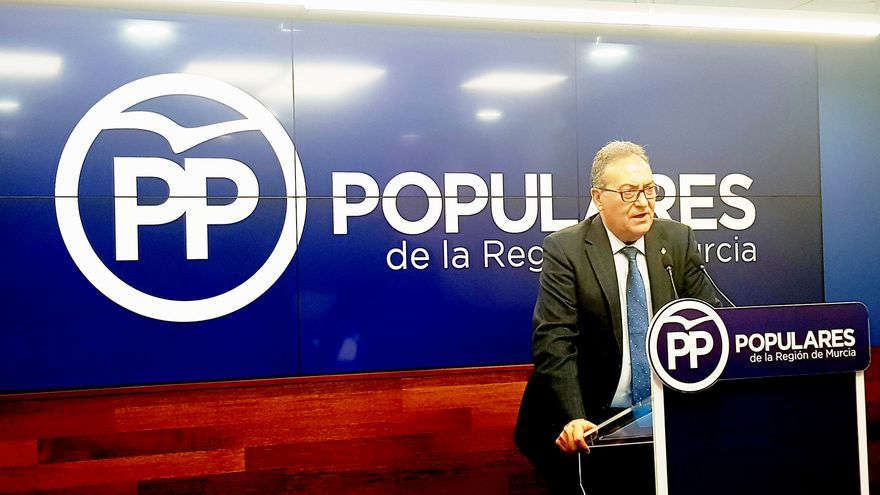 Senador del PP, Pedro José Pérez