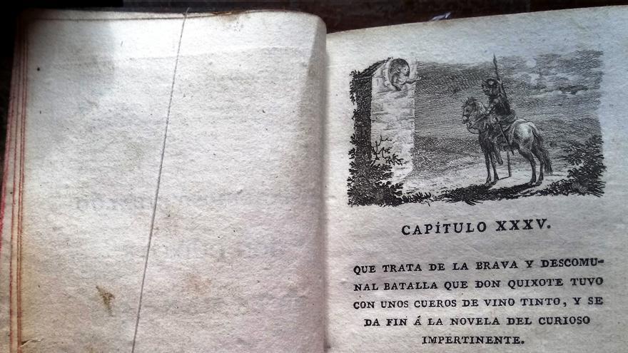 Don Quijote de la Mancha, Imprenta Real, Madrid, 1798.