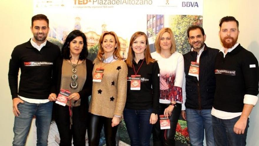 Participantes en TEDxPlazadelAltozano
