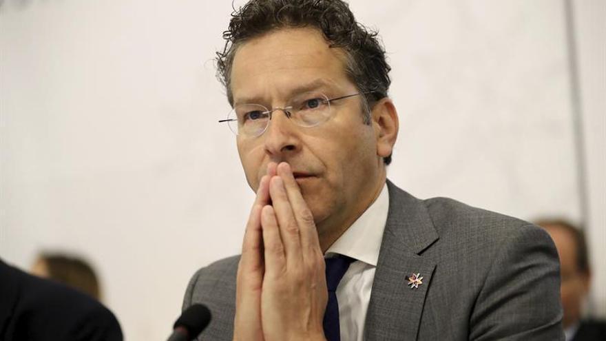 Dijsselbloem asegura que ningún ministro del Eurogrupo pidió hoy su dimisión