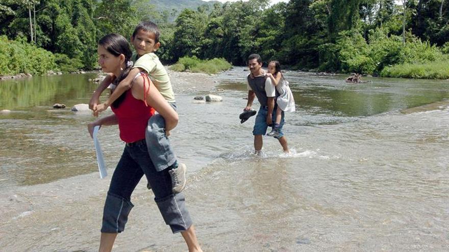 Casi 100.000 colombianos fueron desplazados de 1999 a 2006 en el Catatumbo