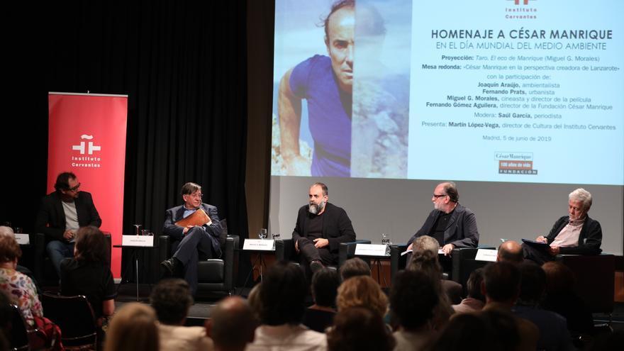 Homenaje a César Manrique en el Instituto Cervantes en Madrid