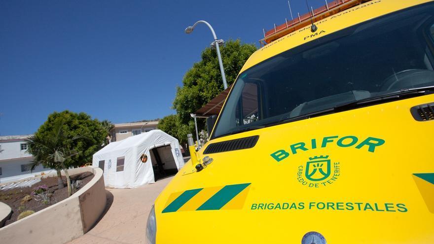 Vehículo de las Brifor en Tenerife, en una imagen de archivo