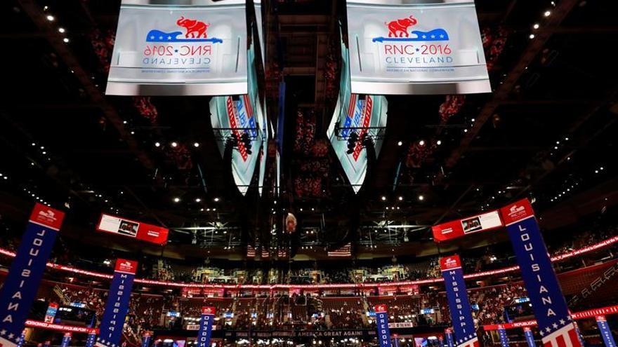 La Convención Republicana toma la ciudad de Cleveland