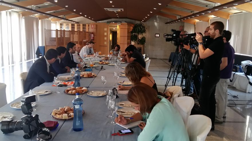 Desayuno informativo de C's Región de Murcia con los medios de comunicación