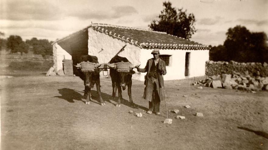 Hace décadas de estas primeras imágenes de los ganaderos del Valle de Los Pedroches