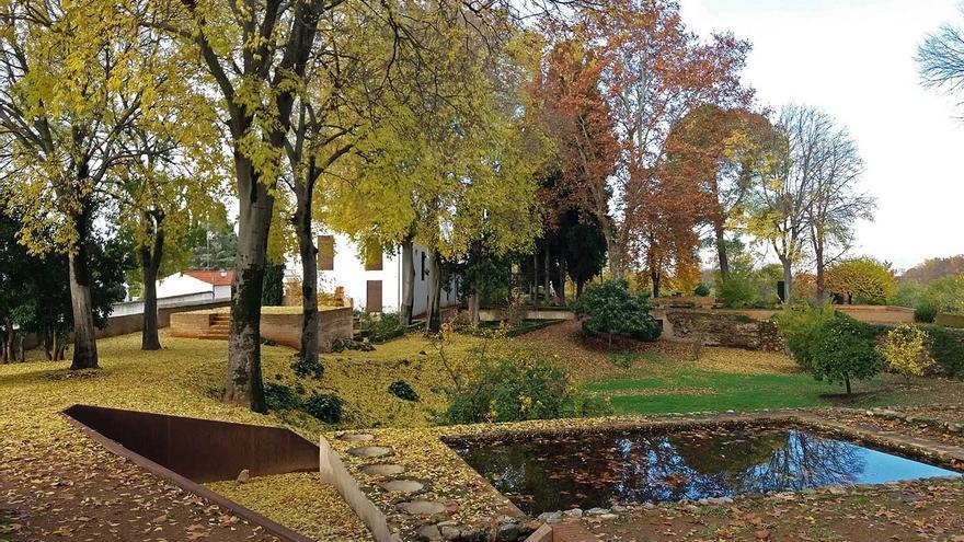 Los jardines del Carmen de Peñapartida.