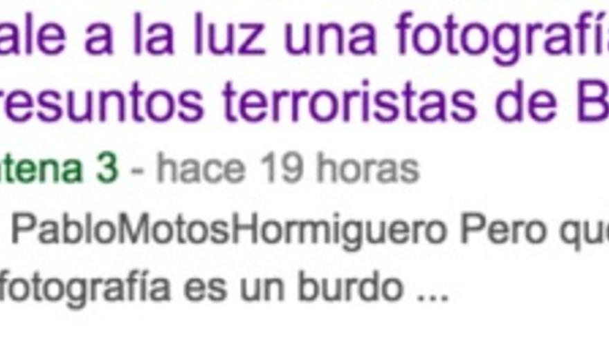 Falso terrorista