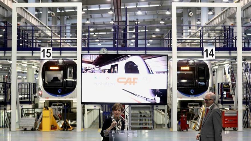 """CAF diversificará su oferta """"más allá"""" de la ferroviaria y buscará alianzas"""