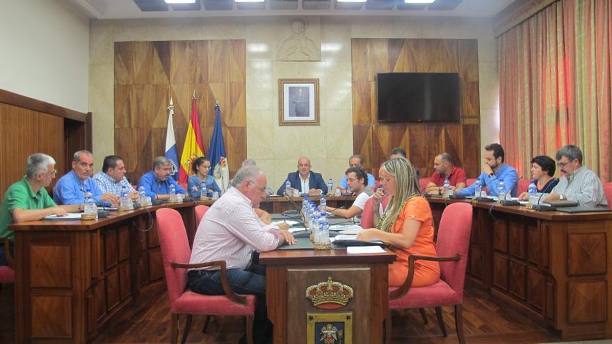 Pleno del Cabildo celebrado este jueves.