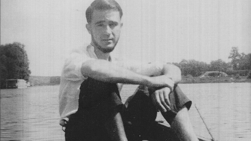 Un joven Ginés Liébana.