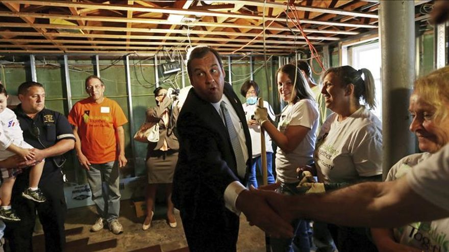 """Chris Christie achaca victoria republicana a """"falta de liderazgo"""" en EE.UU."""