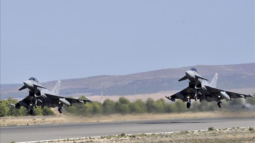 Albacete asume la vigilancia del espacio aéreo utilizado en macroejercicio de la OTAN