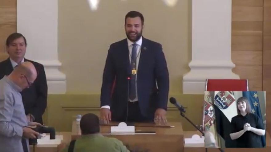 Luis Salaya, nuevo alcalde de Cáceres
