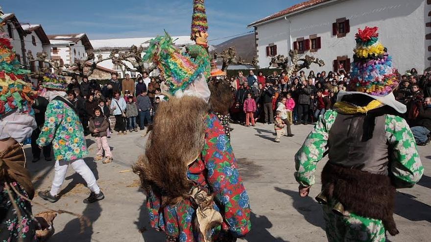 Niños en el carnaval de Lantz