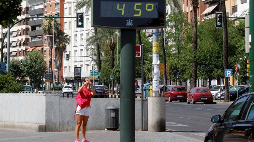 El calor arrecia en los valles del Ebro y el Guadalquivir