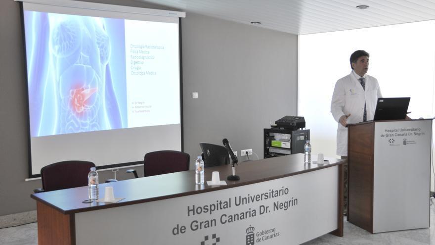 Pedro Lara, jefe del servicio de Oncología Radioterápica del hospital Doctor Juan Negrín de Gran Canaria